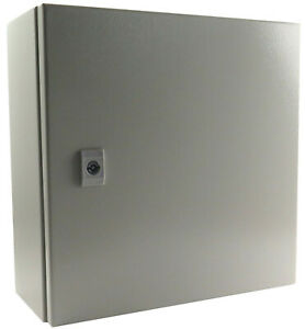 Yc 16x16x6 ip65 Enclosure With Gland Plate Nema Type 4 Back Plate 16 16 6