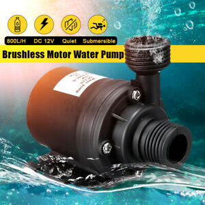 12v Lift 5 5m 800l h Ultra Quiet Brushless Motor Submersible Pool Water Pump