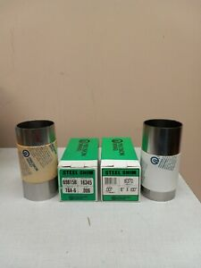 Steel Shim Stock 006 007 Thick 6 X 100 2 Roll Pack Usa Factory New
