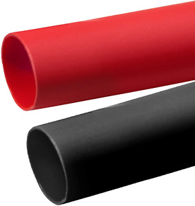 2 Pcs 1 Inch Heat Shrink Tubing 3 1 Adhesive lined Large Heat Wire Shrinkable T