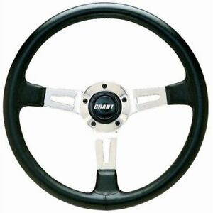 Grant Products 1130 14 Collectors Edition Steering Wheel Black New