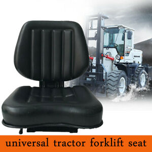 Universal Forklift Seat Tractor Seat Suspension Seat Fits Tractor Skid Loader
