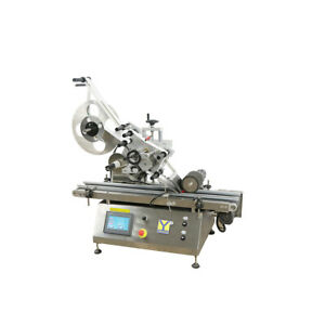 Mt 160 Automated Square Plane Labeling Machine Flat Surface Labler Applicator