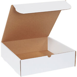 14 X 14 X 4 White Literature Mailers Ect 32b 100 Pieces