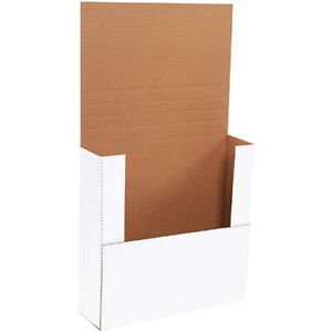 14 X 14 X 4 White Easy fold Mailers Ect 32b 100 Pieces