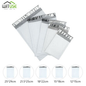 Waterproof White Pearl Film Bubble Envelope Mailing Bags E commerce Industry 6d