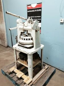 dutchess Rr389 rr409 Hd Commercial 36 Dough Cutter Divider Rounder With Plate