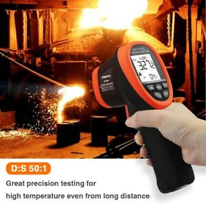 Infrared Thermometer Test High Temperature 58 3272 Thermometer Pyrometer Gun