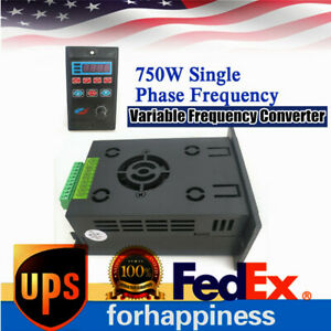 750w Single To Three Phase Output Frequency Converter Variable 1hp Ac 220v