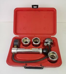 Snap On Cooling System Pressure Tester Kit W Adapters Case Svts262