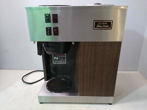 Bunn Vpr Pourover Coffee Maker 12 cup Brewer Commercial Dp03