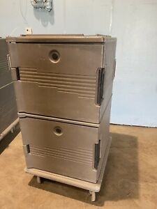 Cambro Upc 1600 Double Door 24 Pans Insulated Food Storage Carrier Ultra Camcart