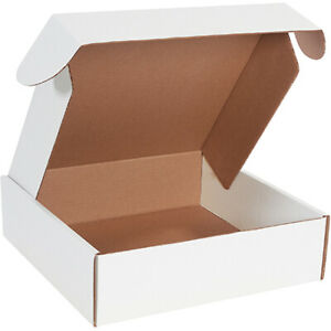 14 X 14 X 4 White Deluxe Literature Mailers Ect 32b 100 Pieces