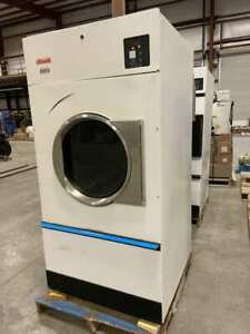 Cissell Chd75 Natural Gas Commercial Dryer Ct075ndob1g1w01 75 Lbs