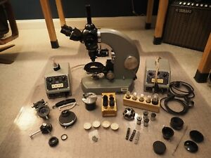 Zeiss Photomicroscope 1 Brighfield Pol Phase Dic