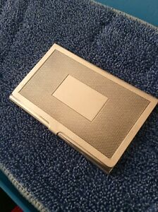 Sterling Silver Business Credit Card Holder By Harrison Brothers Howson Limit