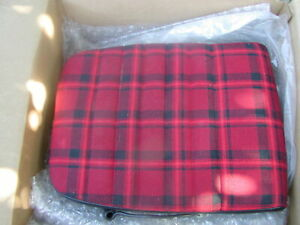 1976 Porsche 914 Seats Red Plaid New Old Stock