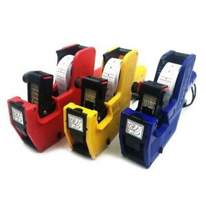Mx 5500 Handheld Price Labeller 8 Digits Single Row Tag Marker Machine For Store