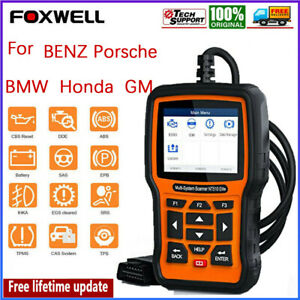 Foxwell Nt510 Bi Directional Diagnostic Tool Obd2 Code Reader All System Scanner
