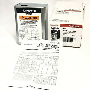 Honeywell Resideo Ra832a 1066 Switching Relay 2 wire 24v Control Circuit New