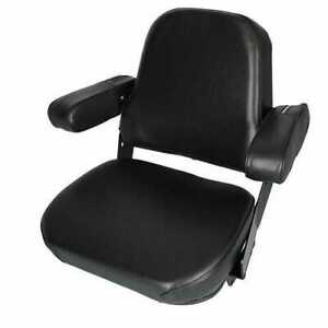 Seat Assembly Mechanical Vinyl Black Compatible With International Case
