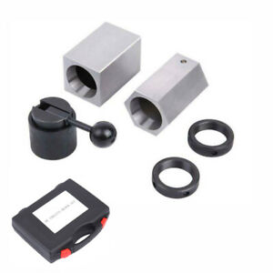 5c Collet Block Set Square Hex Rings Collet Closer High Hardness W Case