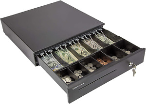Cash Register Drawer For Point Of Sale Pos System With Removable Coin Tray 5