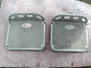 1928 1929 1930 1931 Ford Model A Roadster Aluminum Running Board Step Plates