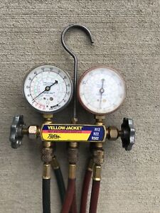 Yellow Jacket Test And Charging Manifold R 12 R 22 R 502 Ritchie Engineering