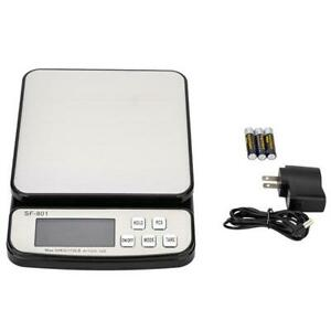 110 Lb X 0 1oz Digital Postal Shipping Scale Weight Postage Adapter 3x Battery