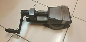 Swivel Vice Milling Machine Vise 4 Precision Indexing 360 Degree 100 Mm