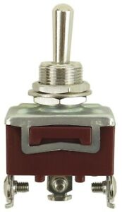 Toggle Switches 2 Or 3 Position 1 4 Pole 10 32a Spade Screw Maintained Momentary