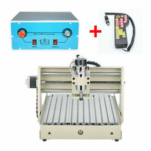 400w 3axis 3040 Cnc Router Engraver Carving Milling Machine With Handwheel rc E