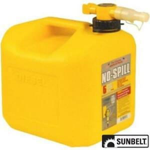 A b1ns1457 Fuel Can No spill Carb Diesel Can 5 Gallon