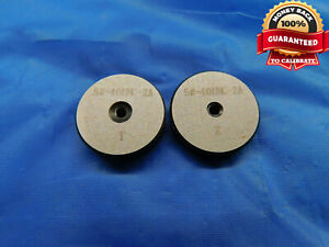 5 40 Unc 2a Solid Thread Ring Gages 5 125 Go No Go P d s 1080 1054