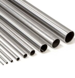 304 Stainless Steel Polished Round Tube Pipe Tubing 1 1 4 Diameter X 12 Length