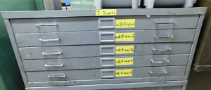 Safco Industrial 5 Drawer Metal Tool Storage Cabinet 40 X 29 1 2 X 16 1 2