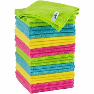 Microfiber Cleaning Cloth Pack of 24 Size:12.6quot; x 12.6quot; $1.98