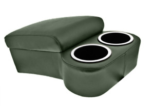 Madrid Green Bench Seat Console With Drink Holders Musclecar Classic Hotrod