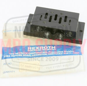 Rexroth 901 f1atf P69191 01 Directional Valve Sub Plate