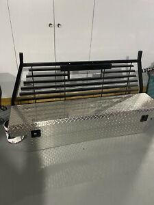 Kobalt Tool Box And Back Rack For Mid Size Trucks Local Pick Up Only