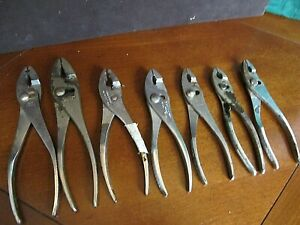 Hand Tool Lot Pliers Wrenches Craftsman Westline Crescent Ect
