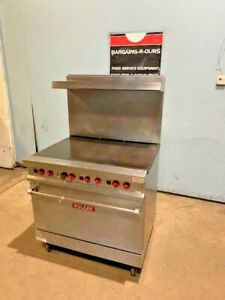 vulcan E36l H duty Commercial Electric 3x Dual Element French Rang With Oven