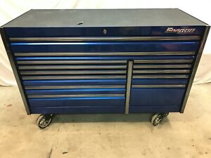 Snap On Tool Box Sapphire Blue 68 Epiq Epic Kern682 In Nj Can Deliver Or Ship