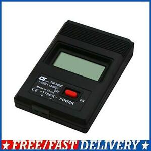 Digital Temperature Meter K type Thermocouple Controller Tester Thermograph Wire