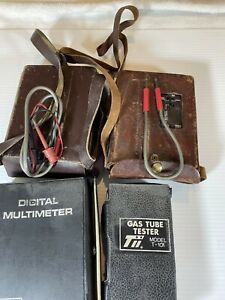 Lot 4 tii Industries Gas Tube Tester Meter Model T 101 Thor 2028 2030 Dm300a