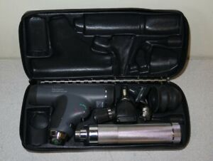 Welch Allyn 3 5v Panoptic Ophthalmoscope Otoscope Nasal Diagnostic Kit