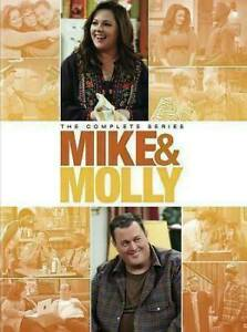 Mike and Molly: The Complete Series Seasons 1 6 DVD 2016 17 Disc Set $34.99