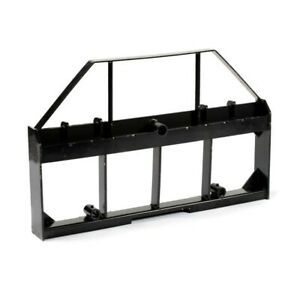 Titan Attachments 46 Skid Steer Pallet Fork Frame Attachment 4 000 Lb Rate