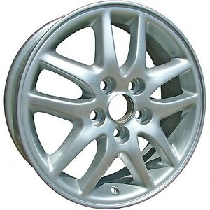 Wheel For 2000 2001 Toyota Camry 16x6 Silver Refinished 16 Inch Rim